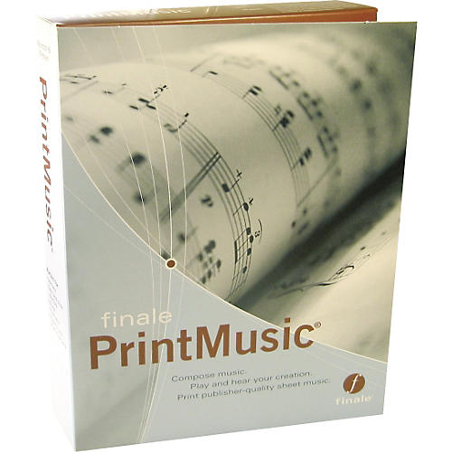 Finale PrintMusic 2006 LabPack - 5-User