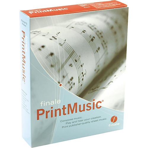 Finale PrintMusic 2007