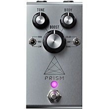 Prism Boost Effects Pedal Silver