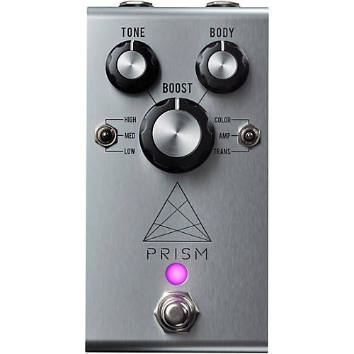 Jackson Audio Prism Boost Effects Pedal Silver