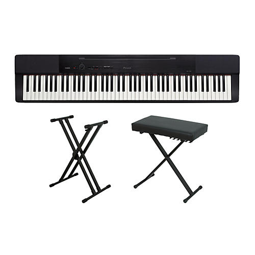 casio privia px 150 keyboard package 2 musician 39 s friend. Black Bedroom Furniture Sets. Home Design Ideas