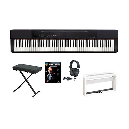 Casio Privia PX-150 Keyboard Package with 3 Pedal Stand