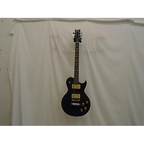 Aria Pro 2 Standard Solid Body Electric Guitar Black