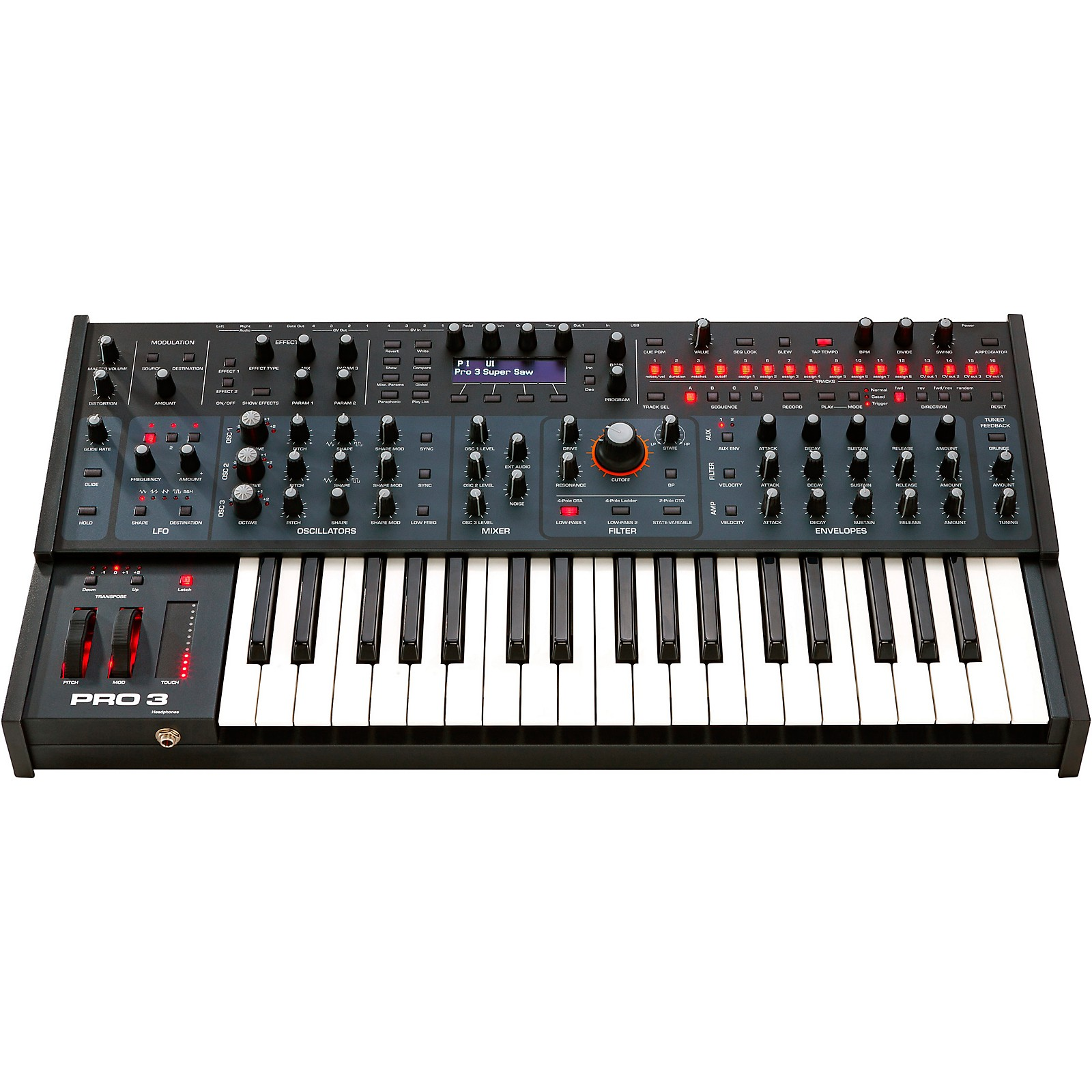 Sequential Pro 3 Multi-Filter Mono Synthesizer