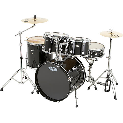 Sound Percussion Labs Pro 5-Piece Shell Pack with Chrome Hardware