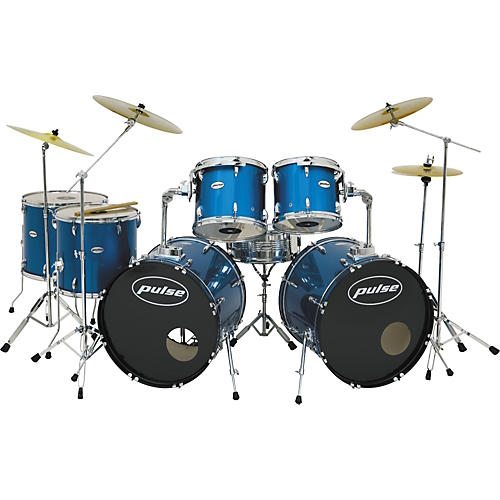 Pulse Pro 7-piece Double Bass Shell Pack