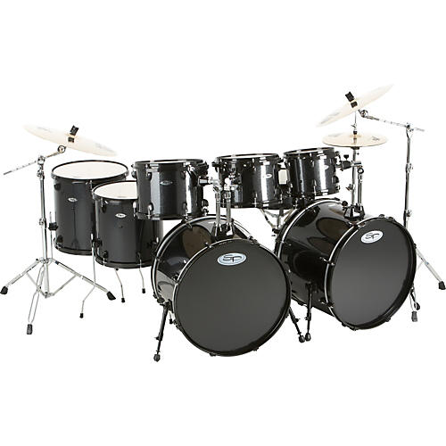 Sound Percussion Labs Pro 8-Piece Double-Bass Drum Set