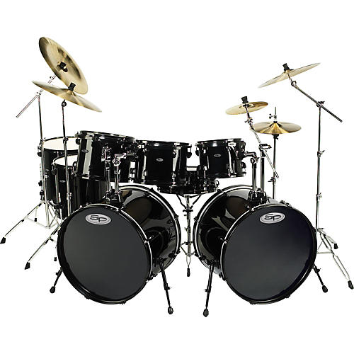 Sound Percussion Labs Pro 8-piece Double Bass Drum Set