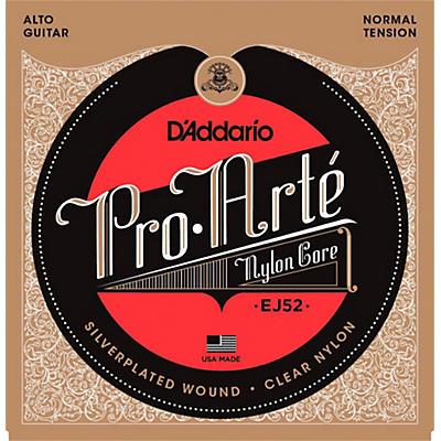 D'Addario Pro-Arte Clear Nylon/Silver Wound for Alto Guitar