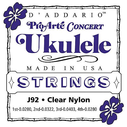 D'Addario Pro Arte J92 Concert Ukulele Strings
