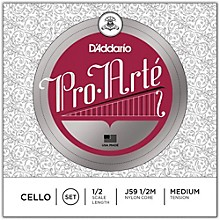 Pro-Arte Series Cello String Set 1/2 Size
