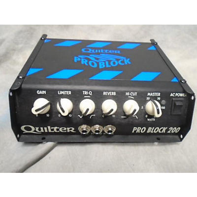 Quilter Labs Pro Block 200 Solid State Guitar Amp Head