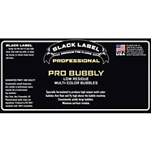 Black Label Pro Bubbly 55 gal. Professional Super Bubble Juice, Multi-color Bubbles, Low Residue