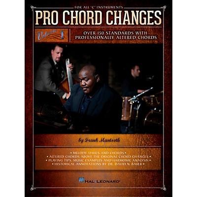 Hal Leonard Pro Chord Changes - Volume 1