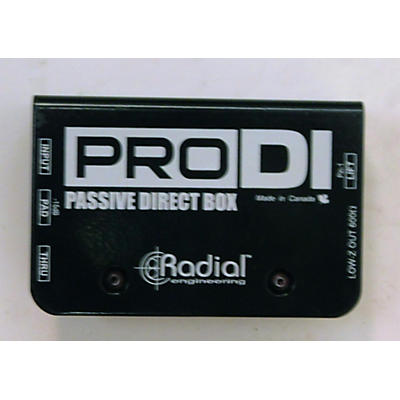 Radial Engineering Pro Di Passive Direct Box Direct Box