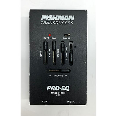 Fishman Pro EQ II Acoustic Guitar Pickup