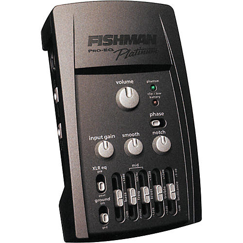 fishman pro eq platinum acoustic guitar preamp musician 39 s friend. Black Bedroom Furniture Sets. Home Design Ideas