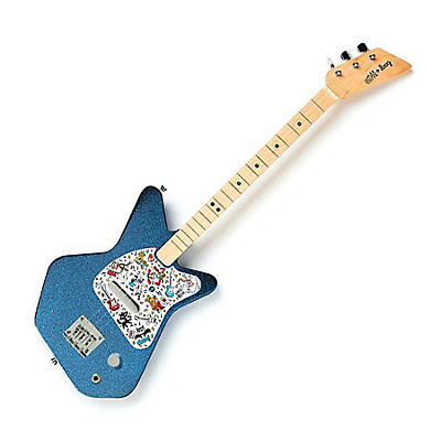 Loog Guitars Pro Electric Guitar for Kids Paul Frank Edition