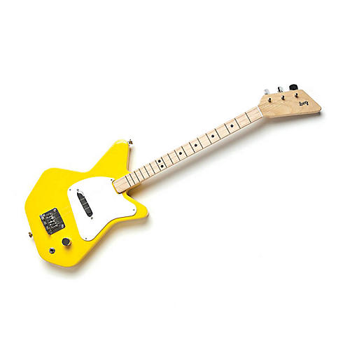 loog guitars pro electric guitar for kids yellow musician 39 s friend. Black Bedroom Furniture Sets. Home Design Ideas