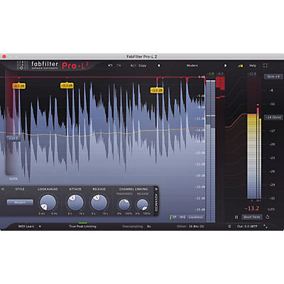 FabFilter Pro-L 2 Limiter Plug-in
