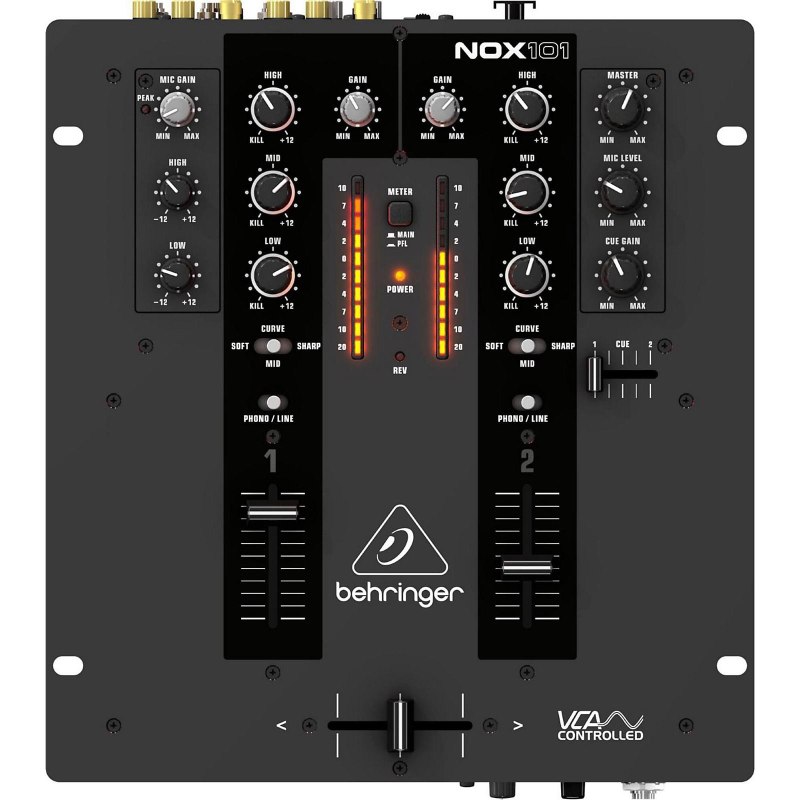 Behringer Pro Mixer NOX101 DJ Mixer