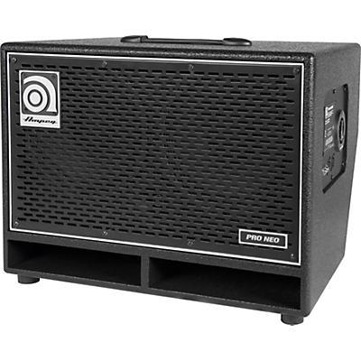 Ampeg Pro Neo Series PN-210HLF 550W 2x10 Bass Speaker Cabinet