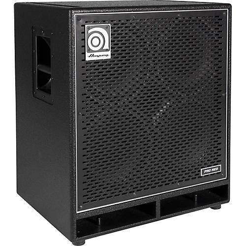 ampeg pro neo series pn 410hlf 850w 4x10 bass speaker cabinet black musician 39 s friend. Black Bedroom Furniture Sets. Home Design Ideas