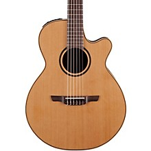 Open Box Takamine Pro Series 3 Folk Nylon Cutaway Acoustic-Electric Guitar
