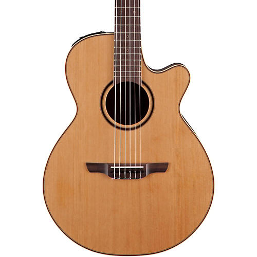 Takamine Pro Series 3 Folk Nylon Cutaway Acoustic-Electric Guitar Condition 1 - Mint Natural