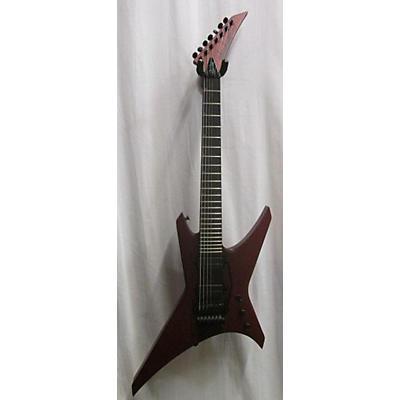 Jackson Pro Series Signature Dave Davidson Warrior WR7 Solid Body Electric Guitar