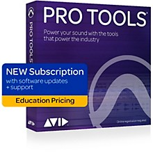 Avid Pro Tools 1-Year Subscription NEW With Updates + Support Plan for Students/Teachers (Boxed)