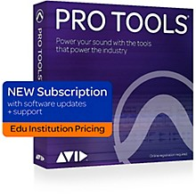 Avid Pro Tools 1-Year Subscription NEW With Updates + Support for Educational Institutions (Boxed)