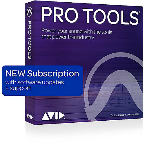 Avid Pro Tools 1-Year Subscription NEW With Updates + Support for a Year (Boxed)