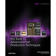 Course Technology PTR Pro Tools 10 Advanced Post Production Techniques Book/DVD
