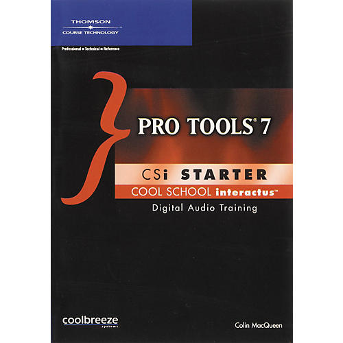 Course Technology PTR Pro Tools 7 CSI Starter (CD-ROM)