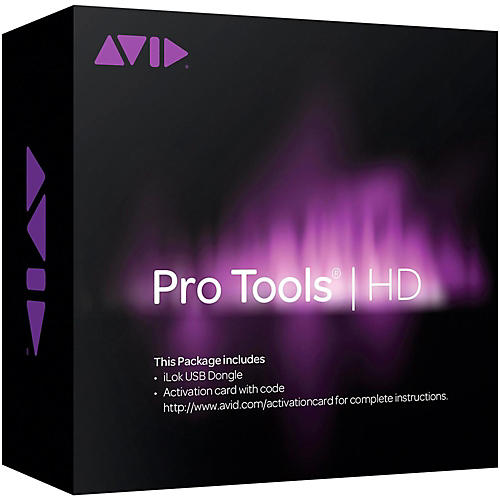 Avid Pro Tools HD Software Only with iLok