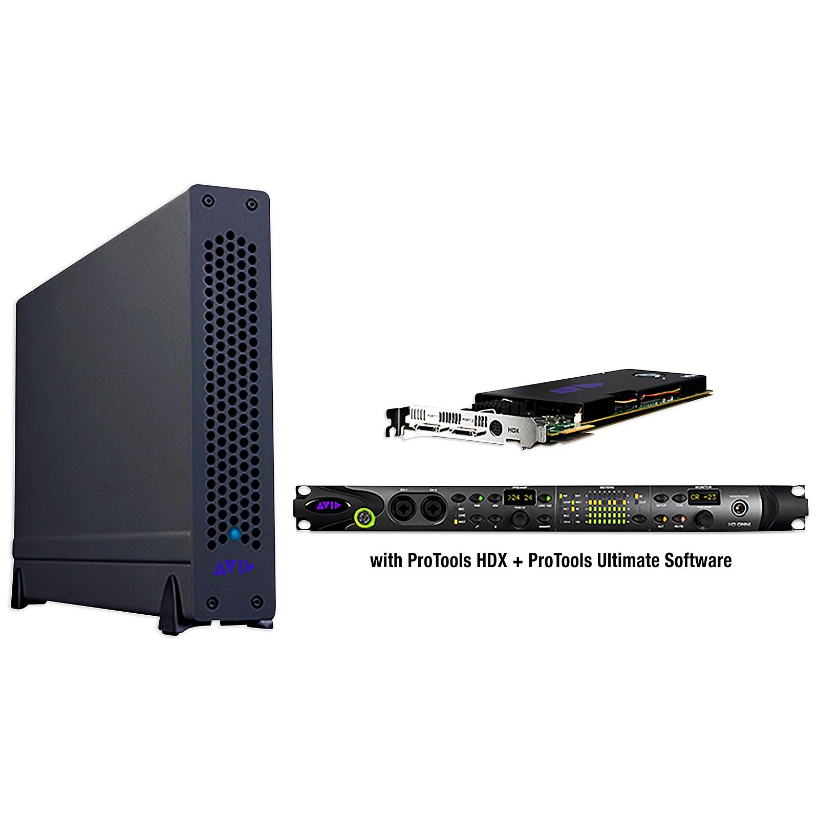 Avid Pro Tools | HDX Thunderbolt 3 Omni Desktop System