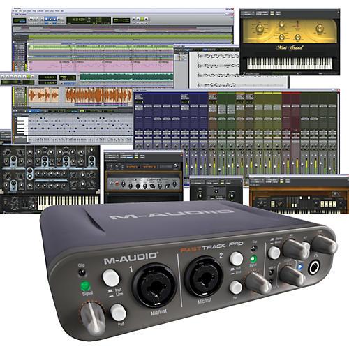 Avid Pro Tools MP + Fast Track Pro