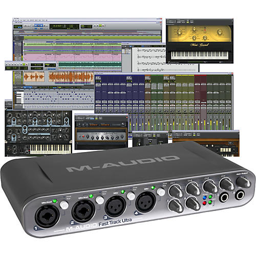 Avid Pro Tools MP + Fast Track Ultra