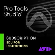 Avid Pro Tools NEW 1-Year Subscription with Updates + Support for Academic Institutions (Download)