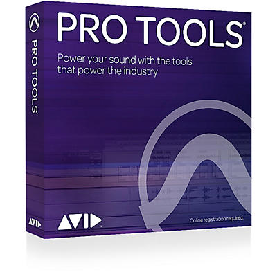 Avid Pro Tools Perpetual + 1 Year of Updates & Support (Download)