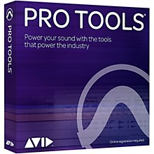 Avid Pro Tools Perpetual License NEW 1-Year With Updates + Support Plan (Boxed)