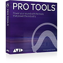 Avid Pro Tools Perpetual License NEW 1-Year With Updates + Support Plan (Download)