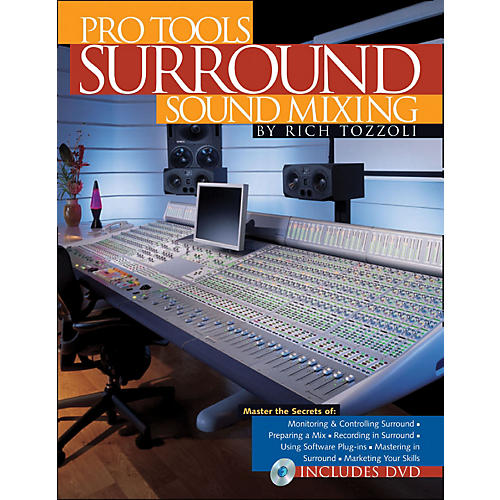 Backbeat Books Pro Tools Surround Sound Mixing Book/DVD