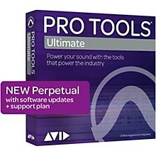 Avid Pro Tools Ultimate NEW Perpetual License with 1-Year of Updates + Support (Download)