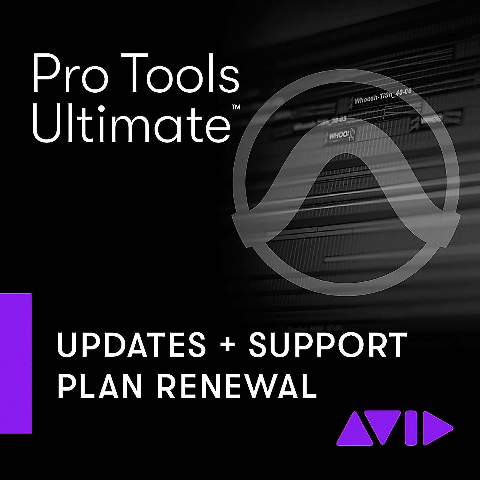 Avid Pro Tools Ultimate RENEWAL 1-Year of Updates + Support for Perpetual License (Download)
