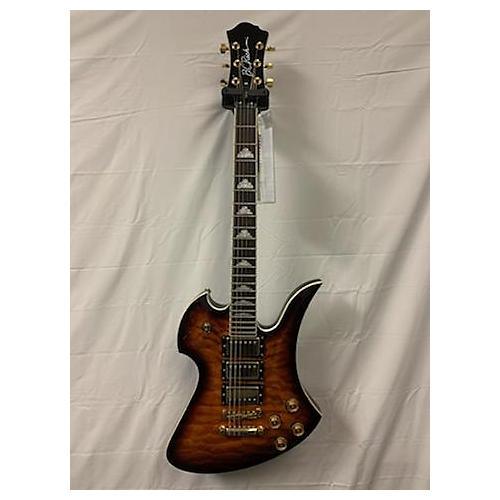 B.C. Rich Pro X Custom Mockingbird Solid Body Electric Guitar Tobacco Burst