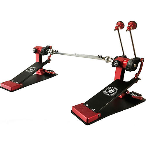 Trick Drums Pro1-V Black Widow ShortBoard Double Bass Drum Pedal