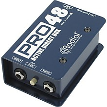 Open Box Radial Engineering Pro48 Active 48-Volt Compact Active Direct Box