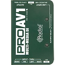Open Box Radial Engineering ProAV1 Single-Channel Direct Box